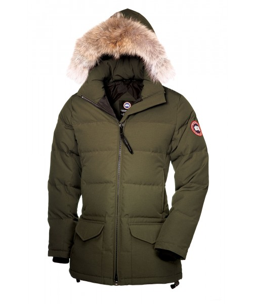 CANADA GOOSE SOLARIS PARKA Military Green WOMENS 3034L