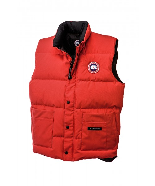 CANADA GOOSE FREESTYLE VEST Red Mens 4150M