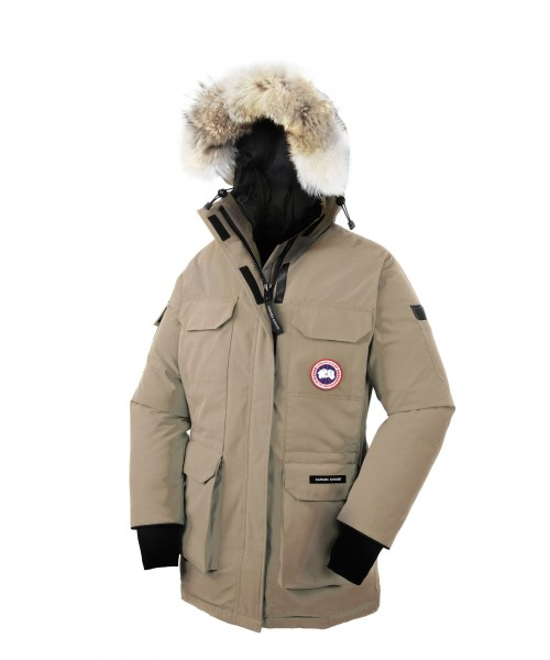 CANADA GOOSE EXPEDITION PARKA Tan WOMENS 4565L