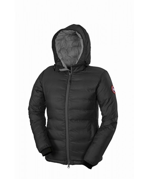 CANADA GOOSE CAMP HOODY Black Womens 5055L