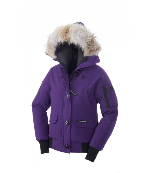 CANADA GOOSE CHILLIWACK BOMBER Arctic Dusk WOMENS 7950L