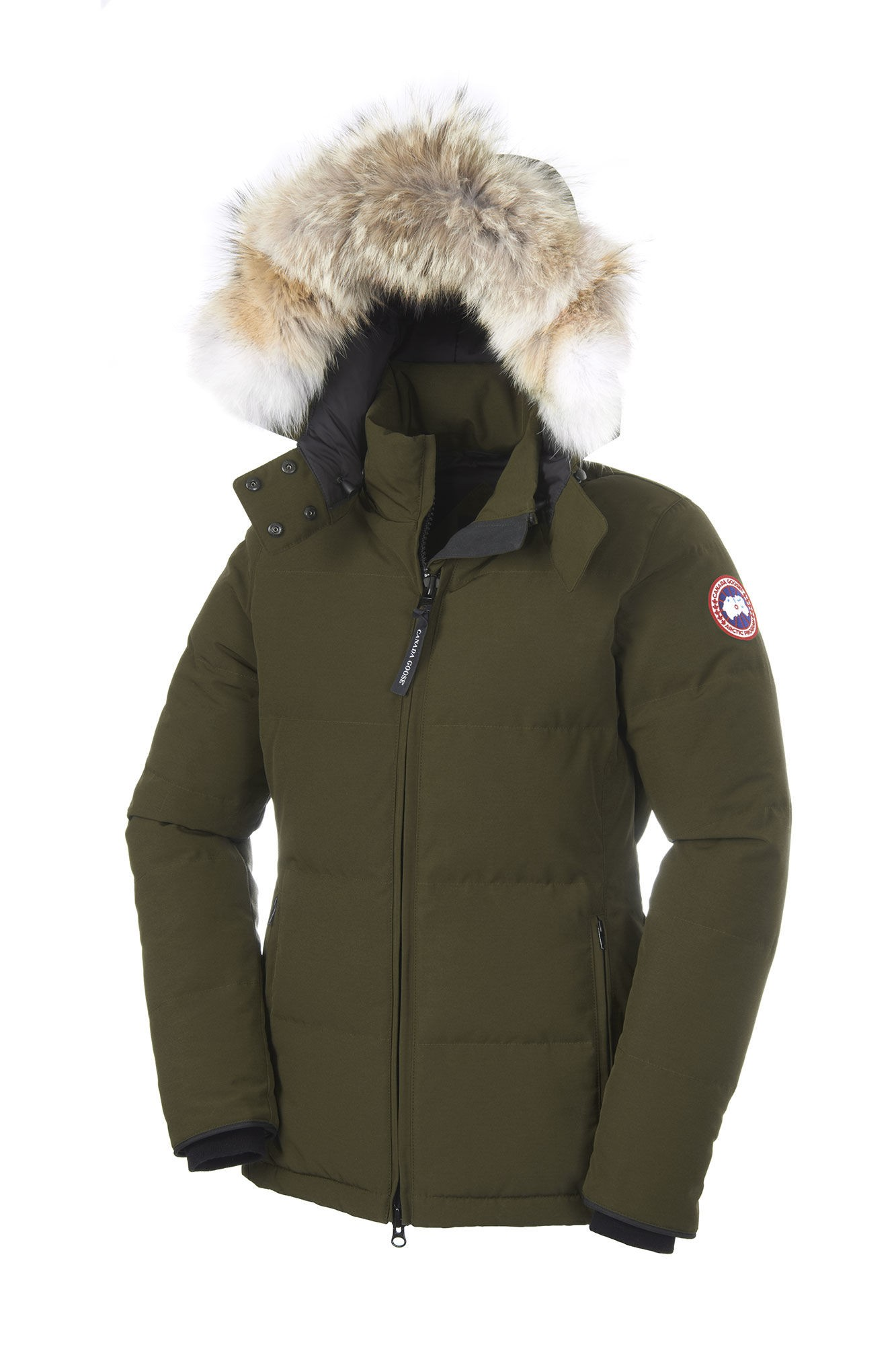 canada goose jacket military green