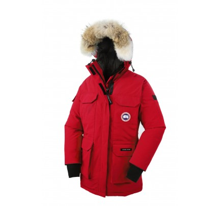 CANADA GOOSE EXPEDITION PARKA Red WOMENS 4565L