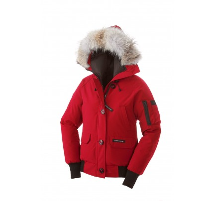 CANADA GOOSE CHILLIWACK BOMBER Red WOMENS 7950L