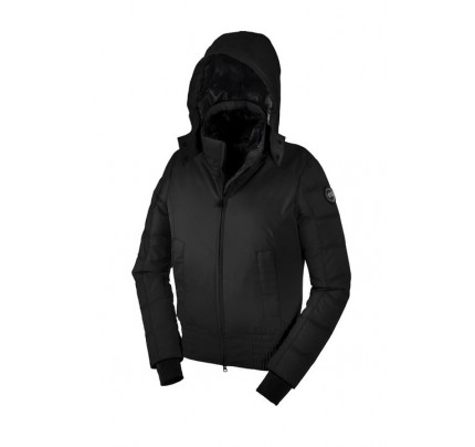 Canada Goose ABERDEEN BOMBER BLACK LABEL Black WOMENS 2555L