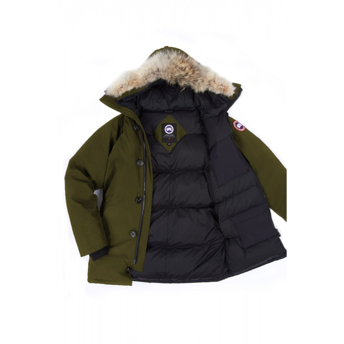 canada goose chateau parka military green