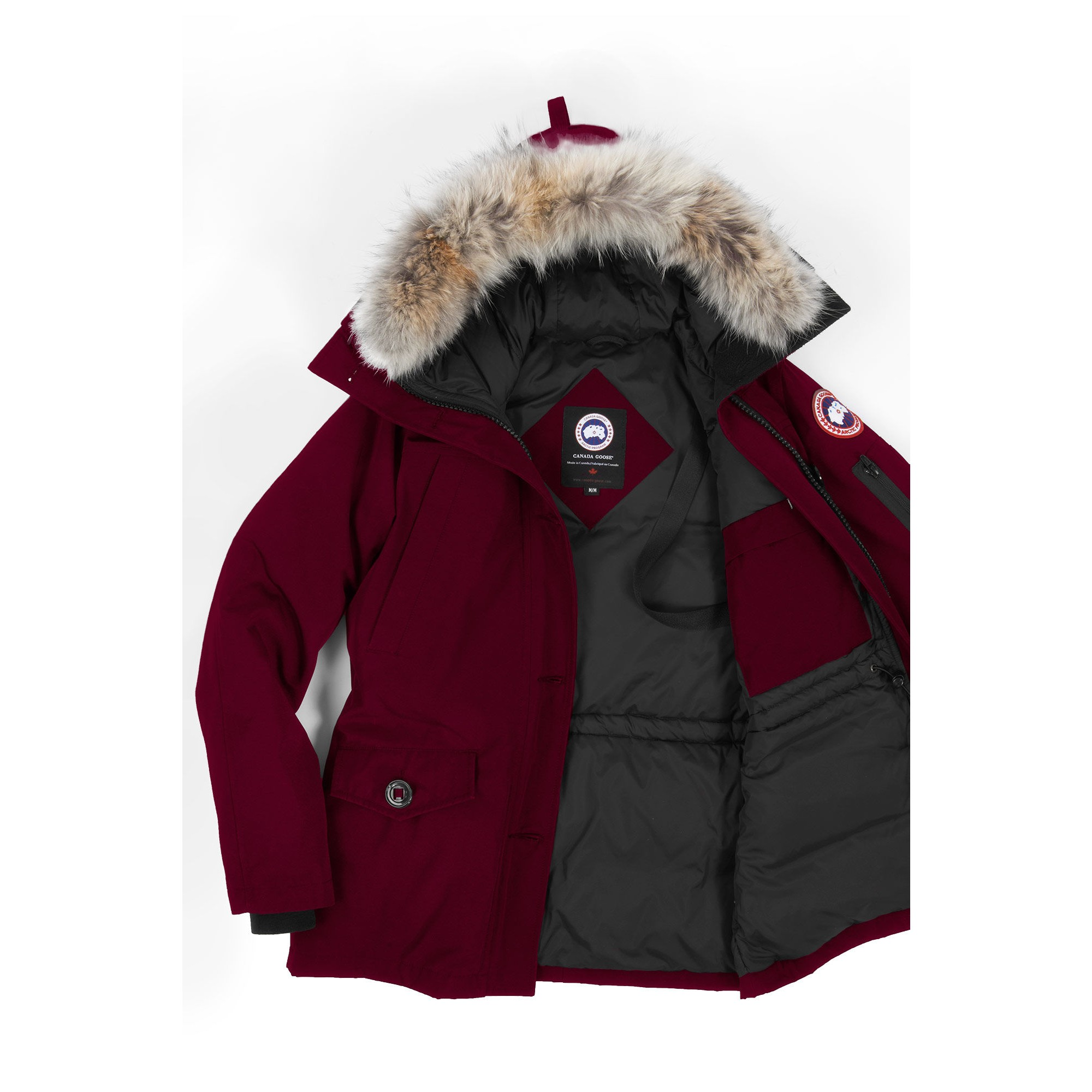 729da8261b07 cheapest canada goose montebello parka women bordeaux 2530l. display  gallery item 1 display gallery item