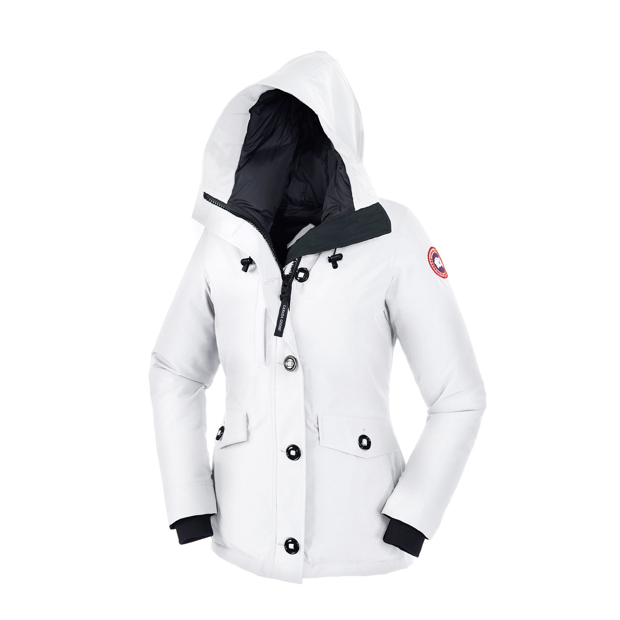 CANADA GOOSE RIDEAU PARKA White WOMENS 3800L. Display Gallery Item 1 ... 726d4f324897