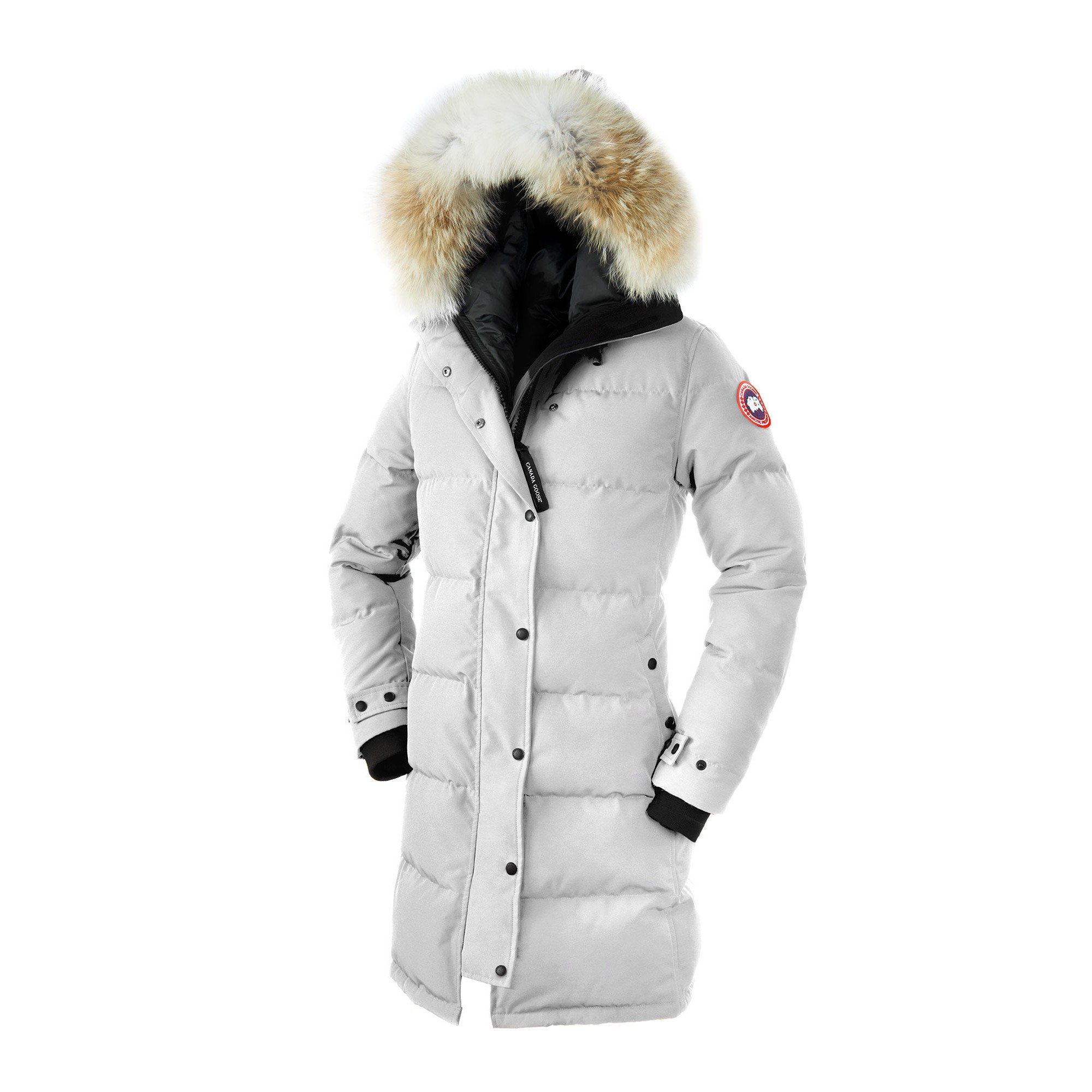 d1f35dce7927 CANADA GOOSE SHELBURNE PARKA WOMEN White 3802L. Display Gallery Item 1 ...