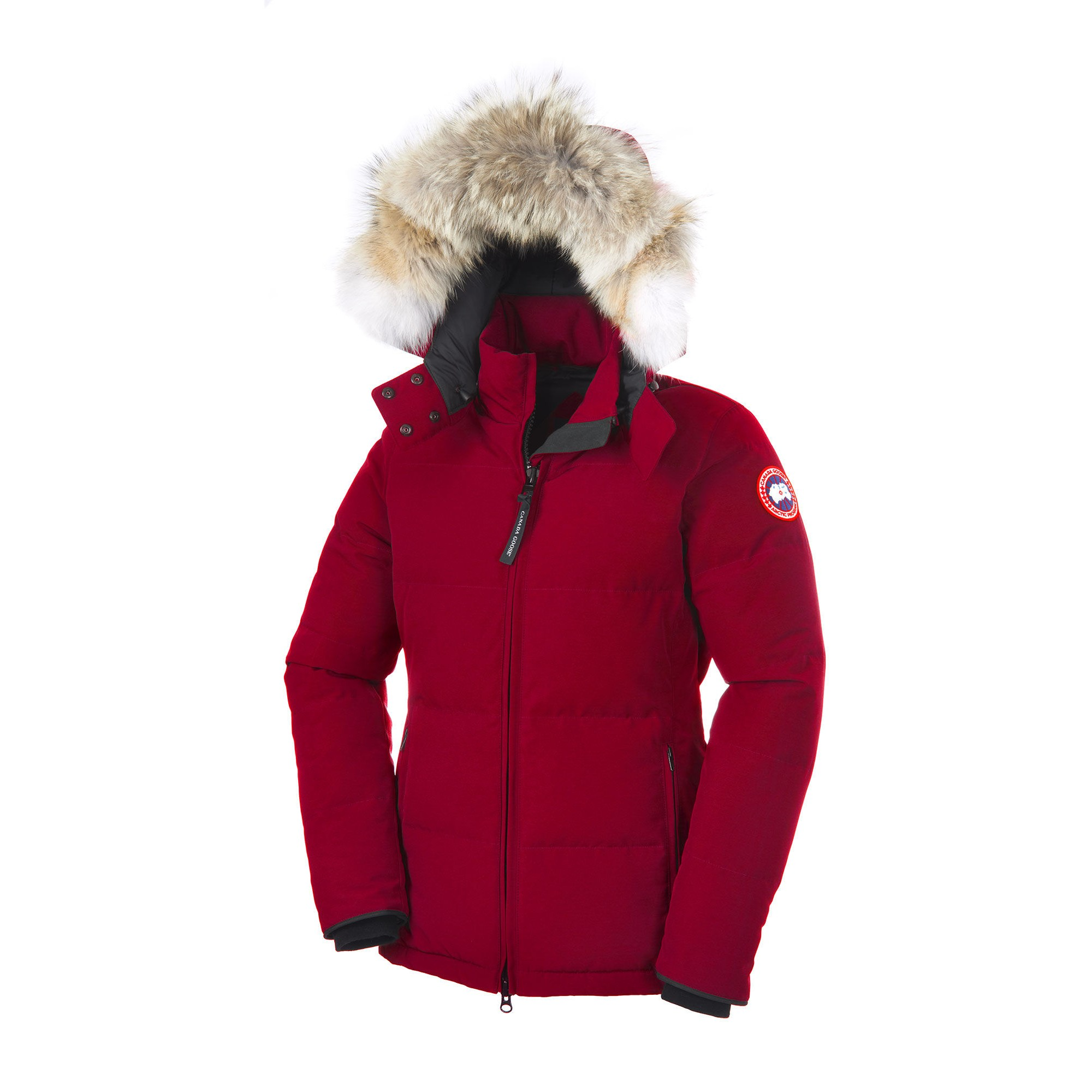 Canada Goose Womens Chelsea Parka Jacket Red