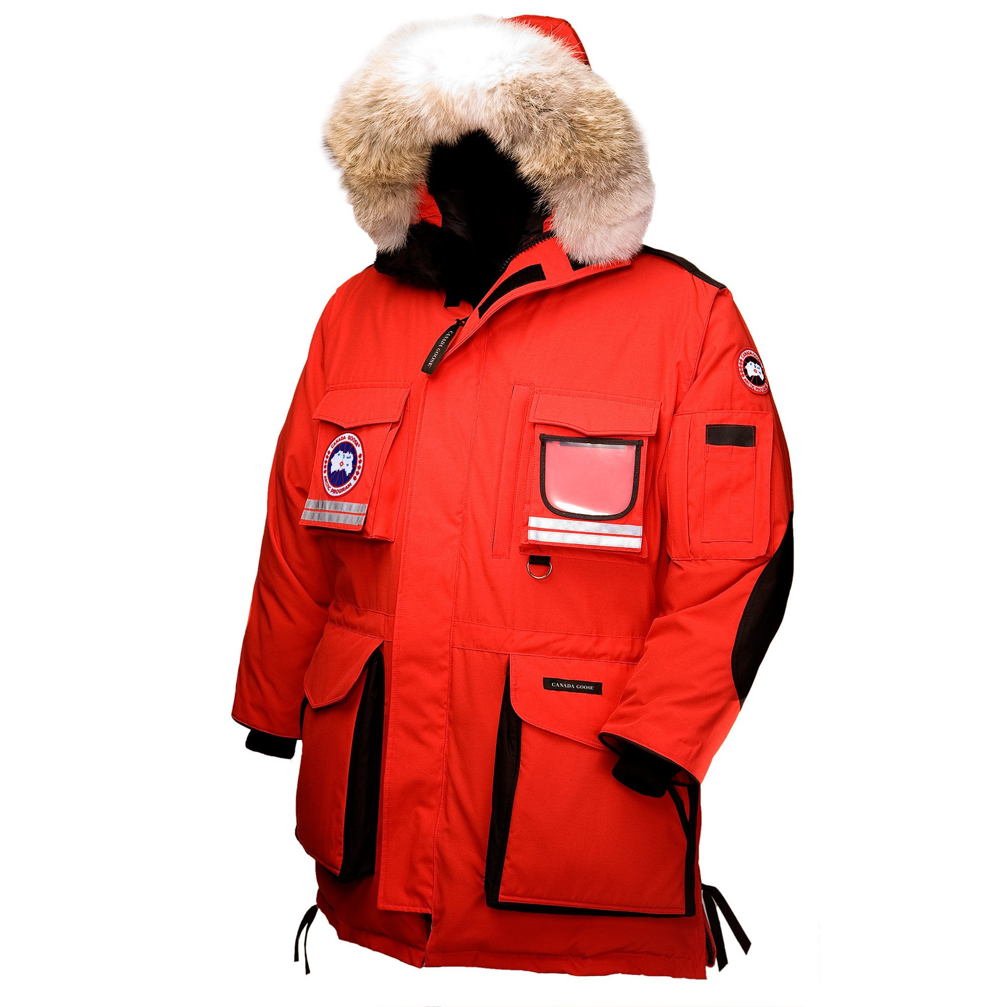 canada goose constable parka red
