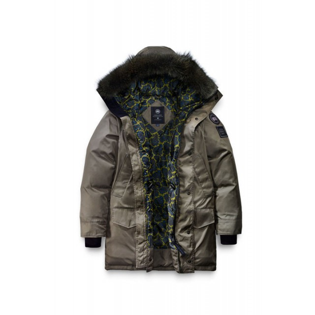 Canada Goose Langford Parka For Opening Ceremony Men's Style 2062MO - Dark Sage