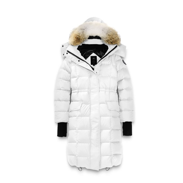 Canada Goose Lunenburg Parka Black Label Women's Style # 3206LB - Northstar White
