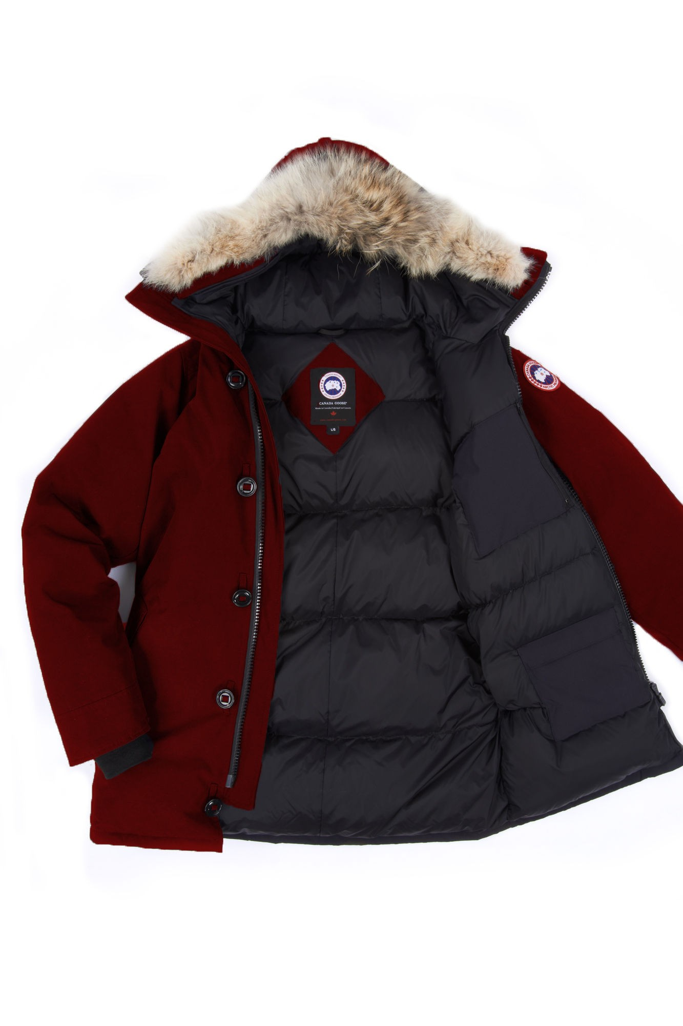 canada goose black label chateau