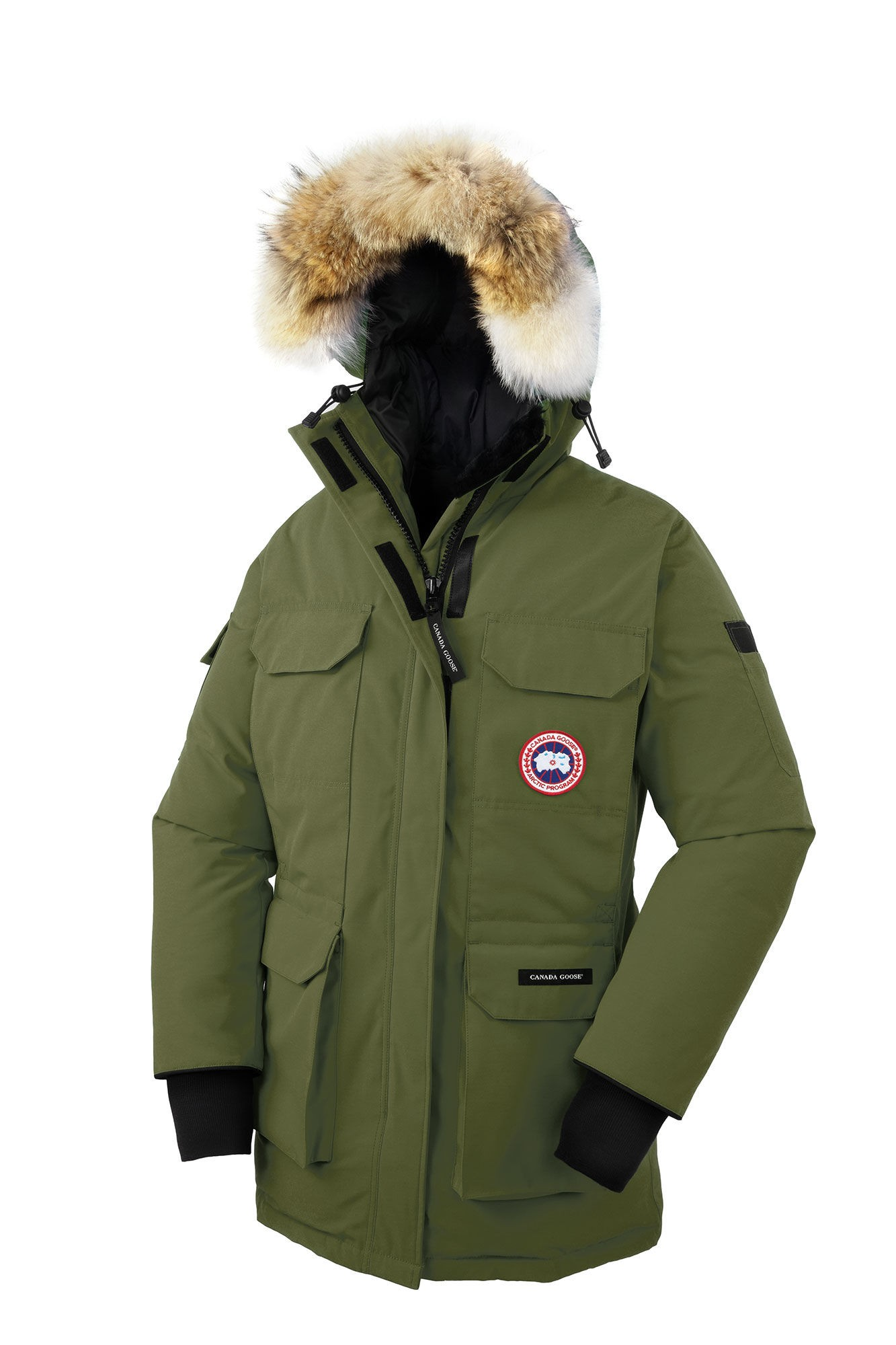 canada goose expedition parka green