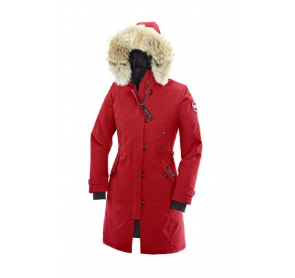 CANADA GOOSE KENSINGTON PARKA WOMEN Red 2506L