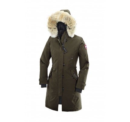 CANADA GOOSE KENSINGTON PARKA WOMEN Military Green 2506L