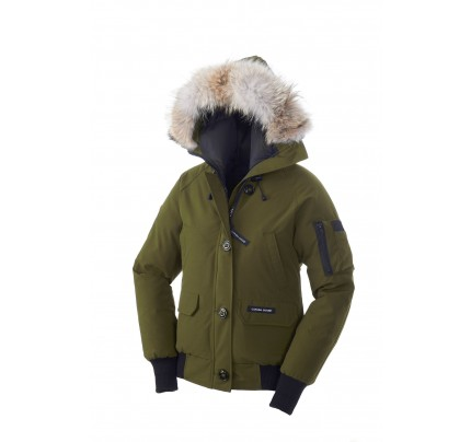 CANADA GOOSE CHILLIWACK BOMBER Military Green WOMENS 7950L