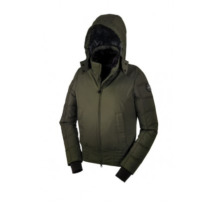 Canada Goose ABERDEEN BOMBER BLACK LABEL Military Green WOMENS 2555L